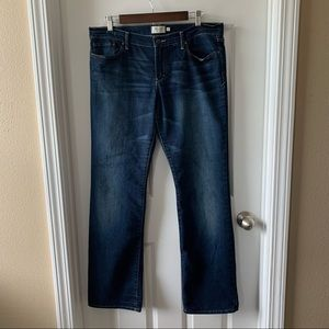 """Abercrombie & Fitch """"Emma"""" straight leg jeans"""